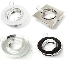 LED Einbaustrahler GU10 230V Einbauspot Einbaurahmen Einbauleuchten Leuchtmittel