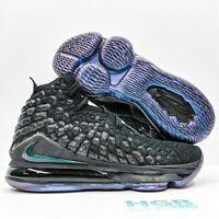 Nike Lebron XVII Men's Basketball Running Training Sports Gym Black BQ3177-001