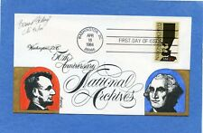 Sc #2081 National Archives Goldberg Hand Painted Cachet First Day Cover