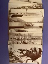 1940's ARCADE CARDS Lot of 26 Different INDIAN TRIBES Exhibit Great Photos Rare