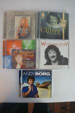 5 Schlager CD`s - Alben mit Wolfgang Petry, Andy Borg, Juliane Werding (Bluebox)