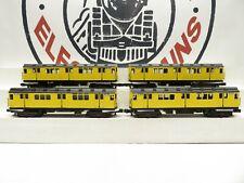 MTH 30-2728-1 Metropolitan Transportation 4-Car Subway Set Proto 2.0 NIB