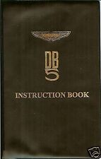 ASTON MARTIN DB5 INSTRUCTION BOOK  NEW FACTORY ISSUE