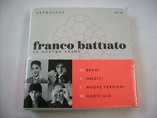 FRANCO BATTIATO - LE NOSTRE ANIME - 3CD SIGILLATO 2015
