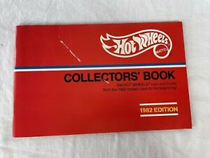 Hot Wheels 1982 Collectors' Catalog Book Booklet Cars from 1968-1982 Mattel