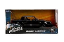 Jada Diecast Metal 1:24 Fast and Furious Dom's Buick Grand National