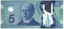 **   CANADA     5  dollars   2013   p-106  (Polymer)    UNC   **
