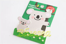 Cute Koala Parents and Kids Post It Bookmark Marker Memo Index Sticky Notes