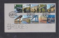 GB 2015 ponti primo giorno copertura RM FDC BAGNO PITTORICA PMK mostra Pulteney Bridge