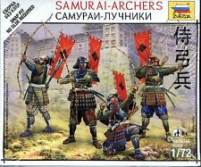 Zvezda 1/72 6404 Samurai - Archers (The Sengoku Period of Japan) (4 Figures)