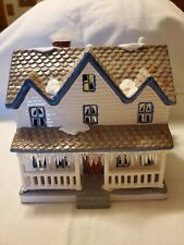 1987 Snow Village Farm House by Department 56