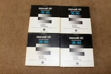 """Maxell UD 35-90 7"""" tapes Vintage"""