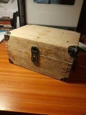 More details for vintage carl zeiss wooden box scientific instrument veb jena original label