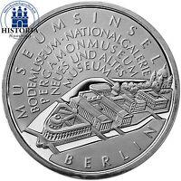 Deutschland 10 Euro Museumsinsel Berlin 2002 Spiegelglanz Silber-Münze in Kapsel