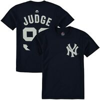 Aron Judge New York Yankees #99 YOUTH Majestic Name & Number T Shirt Size L