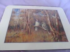 Jason Placemats Australian Wildlife Kookaburra made in New Zealand