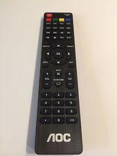 NEW OEM AOC TV REMOTE CONTROL LCD LED HDTV