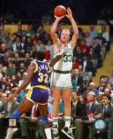 LARRY BIRD MAGIC JOHNSON 8X10 PHOTO *LICENSED*  BOSTON CELTICS LA LAKERS