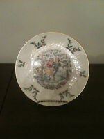 Vintage ROYAL DOULTON Christmas Plate FIRST EDITION 1977 w/ Presentation Box