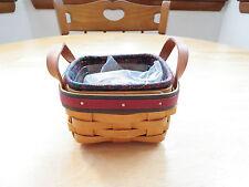 Longaberger 1999 Father's Day Tee Basket Set~New