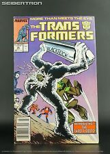 TRANSFORMERS #30 1987 Marvel Comics US G1 Scraplets Throttlebots Blaster Goldbug