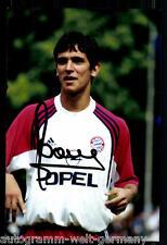 Roque Santa Cruz Super AK Foto Bayern München 00-01 (8) Orig. Signiert