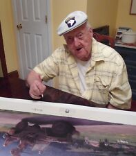 Matt Hall Band of Brothers Signed 6 WWII Veterans including Babe Heffron & more!