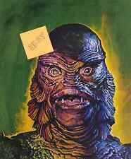 CREATURE FROM THE BLACK LAGOON-  GILL MAN- STYLE  B-  ART GOGOS- UNIK-  $5.99