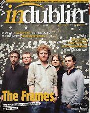 Rare Irish Mag - In Dublin - The Frames - Paddy Casey - Oct 2007