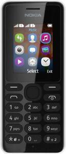 Nokia 108 - Black LOCKED ON EE Brand New