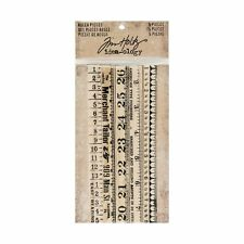 Tim Holtz Idea-ology RULER PIECES Findings TH93565  2017
