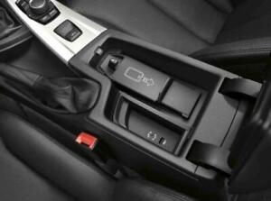 BMW OEM Snap in Wireless Charging Shelf Universal F30 F15 F20 F32