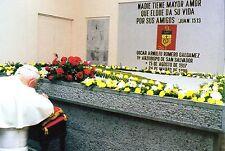870- CARTE VATICAN VISITE PAPE JEAN PAUL II GUATEMALA NICARAGUA VENEZUELA SALVAD