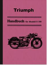 Triumph S 350 Bedienungsanleitung S350 Betriebsanleitung Handbuch Sport Manual