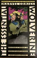 Marvel Comics Graphic Novel Essential Wolverine TPB Vol. #1 VG