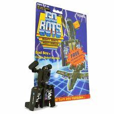 """Vintage TONKA GOBOTS """"BAD BOY"""" #55 Enemy Robot BOMBER AIRPLANE with CARD-BACK!!"""
