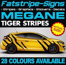RENAULT MEGANE GRAPHICS TIGER STRIPES STICKERS DECALS TURBO SPORT RS 250 265 275