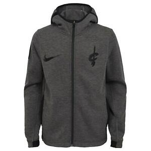 Nike NBA Youth (8-20) Cleveland Cavaliers Showtime Full Zip Hoodie