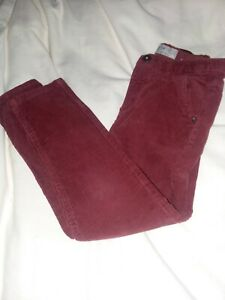 Zara Cranberry Red Cords Size 7 but Fits Like A 6/7