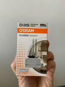 D3S 66340 OSRAM Original Xenon HID Car Headlight Bulb 35W (Single) 4200K