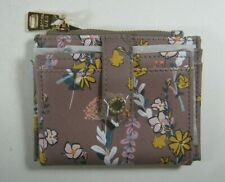 Steven Madden Hayden Floral Lady Women's Card Case Wallet NWT
