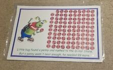 Little Bug Found A Penny Teacher Children's Large Story Cards/Posters