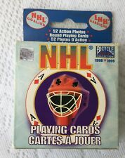 Complete Set! 1998/1999 NHL Goalies Playing Cards (188)