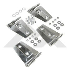 Jeep Wrangler JK Door Hinge Set Stainless 2 Door  07-2016 Rough Trail RT34071