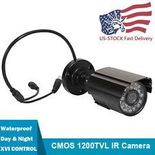 1200TVL Security Bullet Camera Analog CMOS IR Night Vision Surveillance CCTV Cam