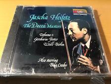 "Jascha Heifetz ""The Decca Masters volume 2 cd SEALED BMG Music Club version"