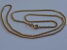 Precioso Collar de Cadena de oro 9ct 💎 19 pulgadas de largo 5.95g
