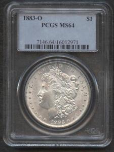 1883-O $1 PCGS MS64-LUSTEROUS -NICE WHITE- MORGAN DOLLAR