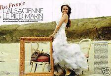 Coupure de Presse Clipping 2011 (6 pages) Miss France Delphine Wespiser