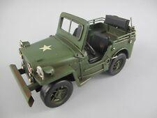 Auto Antik Modell Eisen Blech Spielzeug Vintage Weihnachtsgeschenk Jeep Oldtimer